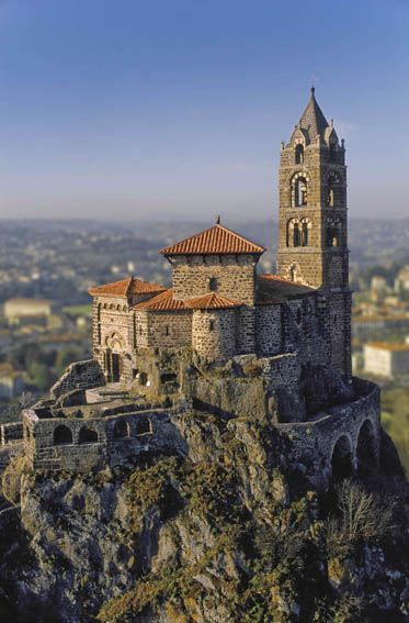 Chapelle Saint-Michel d'Aiguilhe, le Puy-en-Velay, France