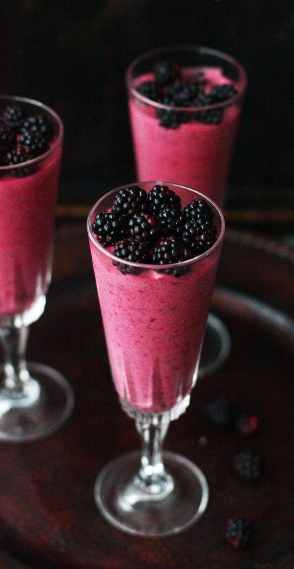 Blackberry Mousse
