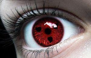 sharingan contact lenses
