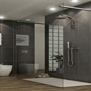 brown white grey bathroom - Google zoeken