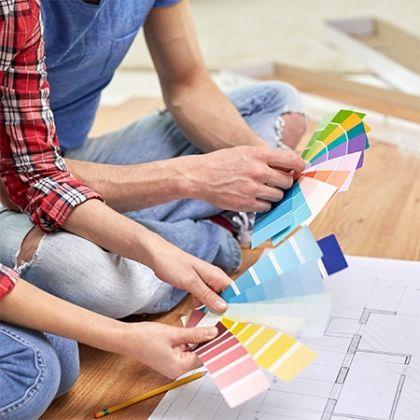 Wohnen mit bunten Teppichen: Farbenfrohe Wohnideen
