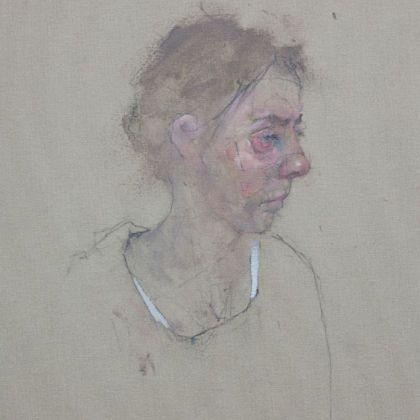 Nathan Ford Anna 11.14, Oil on canvas 28 x 20 cm