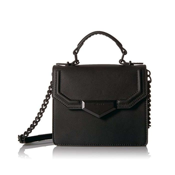 ALDO ELROYIA CROSSBODY Comes in classic black, millennial pink, and metallic silver PRICE: $50