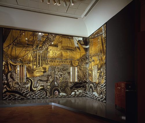 Jean Dupas: Mural: The History of Navigation (1976.414.3a-ggg) | Heilbrunn Timeline of Art History | The Metropolitan Museum of Art