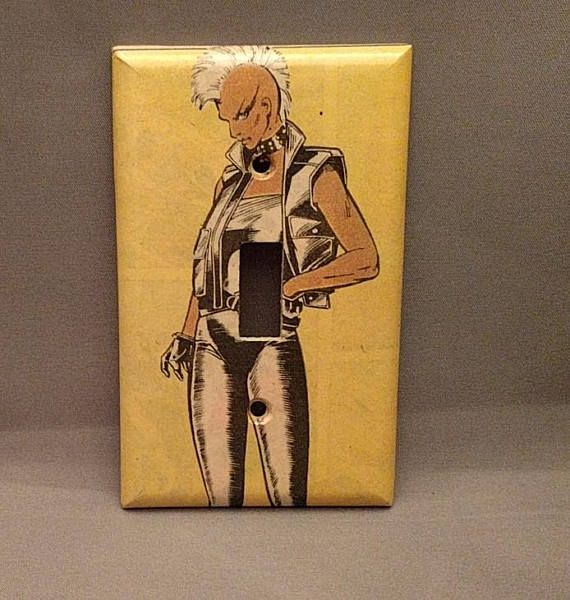 X-men Storm superhero  comic light switch cover