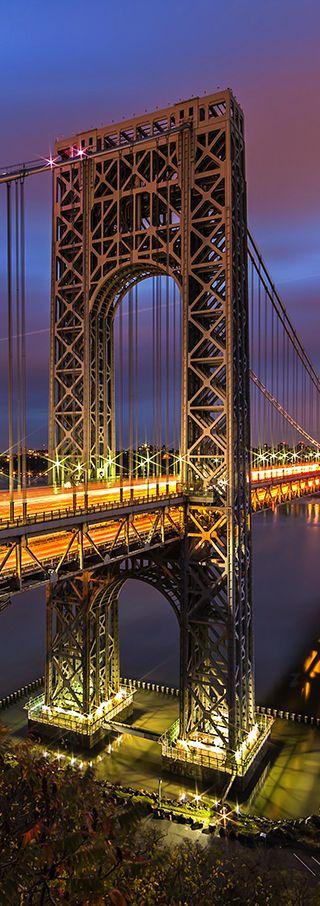 George Washington Bridge - Fort Lee, New Jersey- NY   US