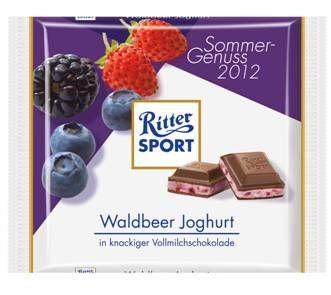 RITTER SPORT Waldbeer Joghurt (2012)