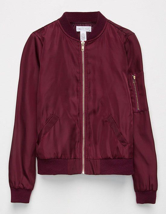 FULL TILT Girls Bomber Jacket