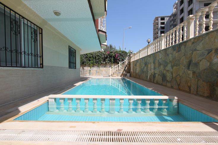 February 2018 - Beachfront Residence Apartment, Altinkum - This lovely apartment in this sought after block, does not come up for sale very often, it is extremely well built to a high standard and quality, and beautifully furnished by the current owners. It is only 50 meters to the beach from this apartment block, but there is a small pool, if you want to sit around, there is also live in maintenance at this property. The property is furnished ready to walk into.