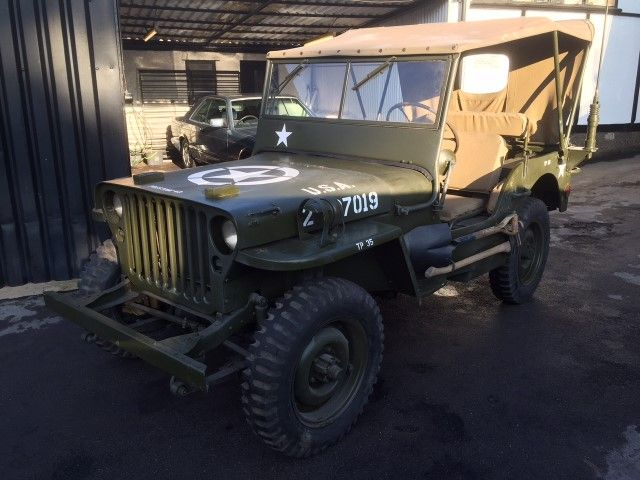 June 1942. WW2, Ford Willys jeep.