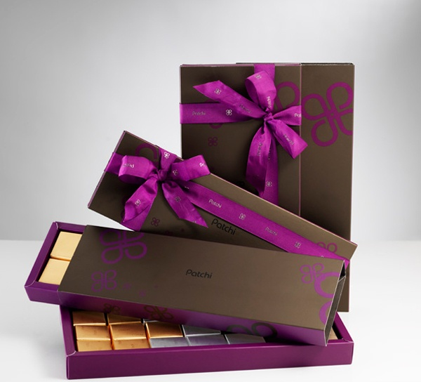 Patchi gift boxes