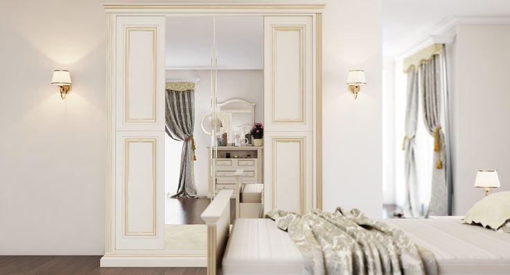 Спальня серия классика 1422p на заказ