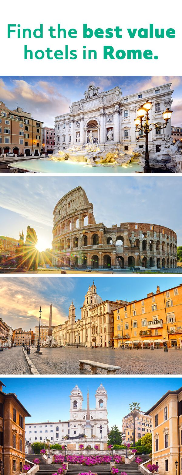 We search up to 20 sites for the lowest prices.   Rome hotels ...