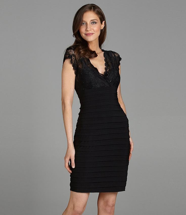 Black and white cocktail dresses designer