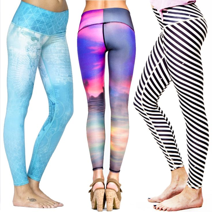 These #teeki Leggings Are Made From Recycled Plastic