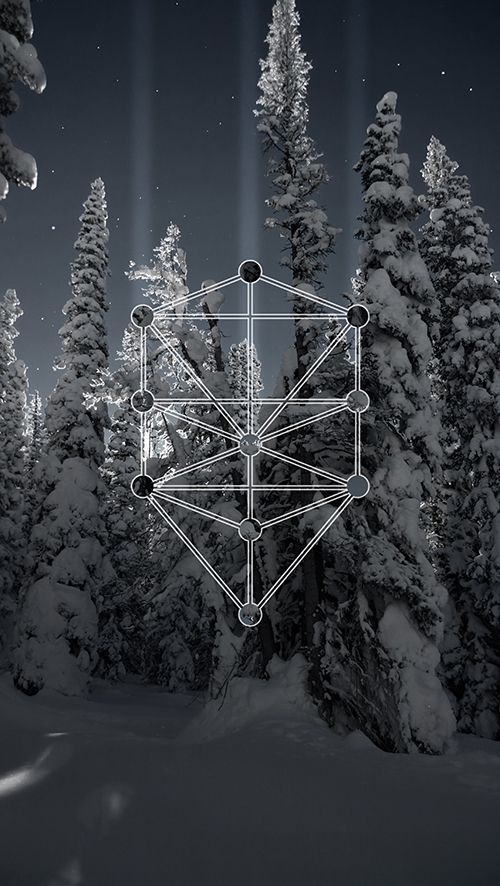 My latest project took me to the snowy forests of the Colorado Rocky Mountains.  The creation of this series served as somewhat of a digital meditation for me.  Through experimentation with surrealistic lighting and esoteric forms I attemped to recreate the stillness I felt being in that moment.  #JulianLuskin #Sefirah #Sephirot #Kabbala #treeoflife