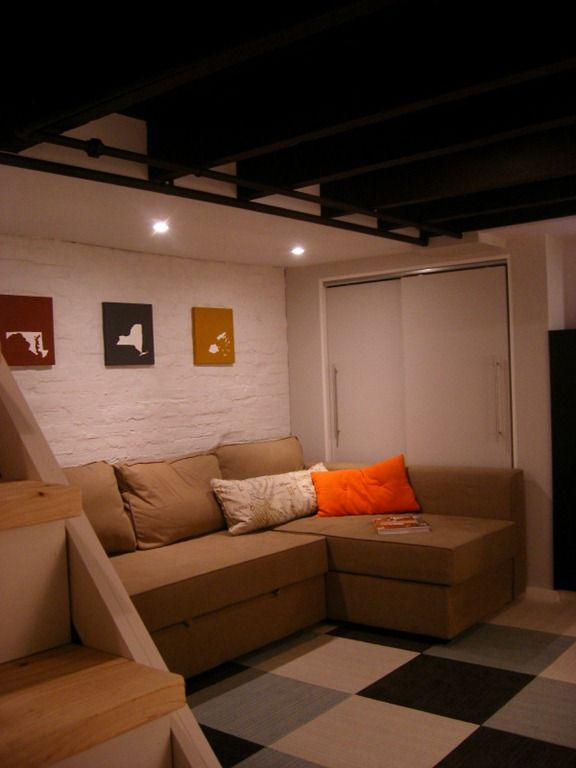 home sweet home on a budget bloggers finish their basements - Basement Bedroom Ideas