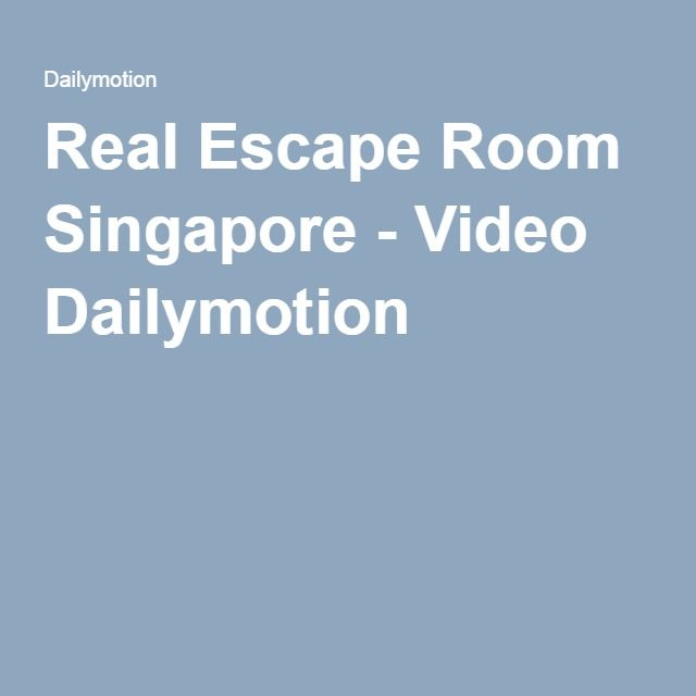 "Plan a rendezvous with Real Escape Room Singapore and get big dosages of entertainment. You are promised a total fun experience as each themed room is crafted to near perfection to take you into a fantasy world. Similarly, your cravings for an amazing Sci-Fi game are met when you play ""Hyperion"". Loads of spooky adventure is promised to you when you try the hand at ""Dark Mansion"". http://www.roomraidersg.com/escape-room-games/"