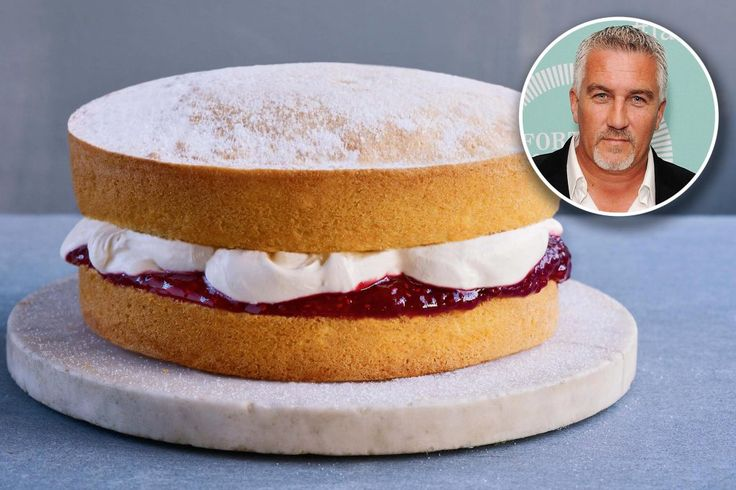 'The Great British Baking Show' judge Paul Hollywood shares his Victoria Spongerecipe