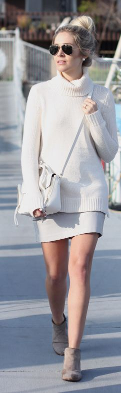 Winter Whites Inspiration Outfit