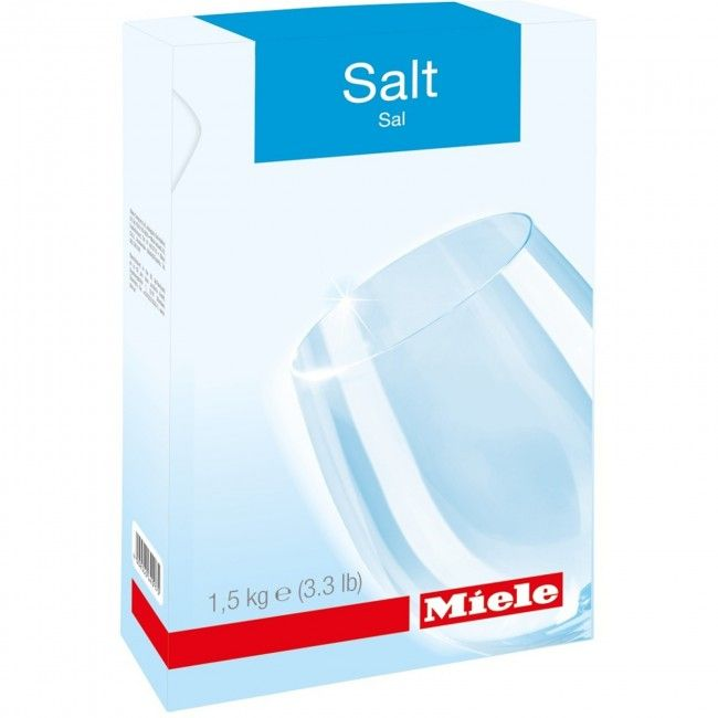 Miele 10248550 Dishwasher Salt (1.5kg) | Atlantic Electrics