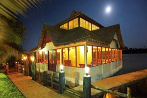#TeluguNow.com Floating restaurant, cottages on River Krishna Read Full Article..