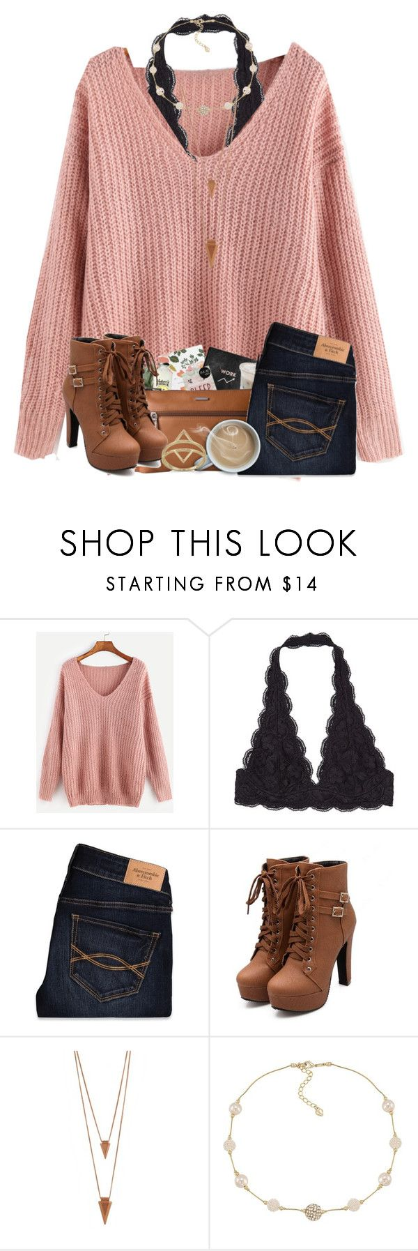 """""""Watching The Voice """" by cassieq6929 ❤ liked on Polyvore featuring Abercrombie & Fitch, Jules Smith, Carolee and BillyTheTree"""