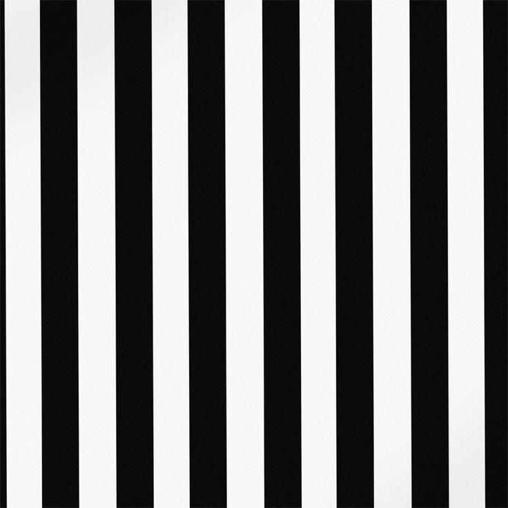 Monochrome Collection, Warwick Fabrics : FALLON / Black and White