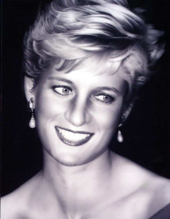 Princess Diana ~~ one of the best portraits