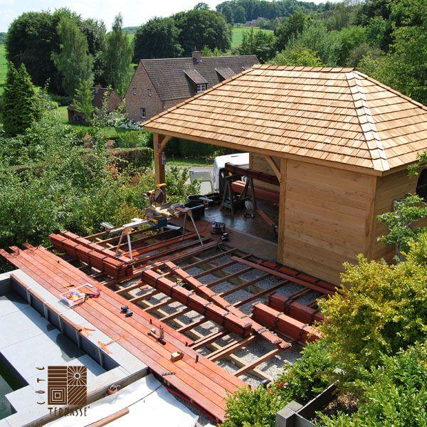 69 best images about archi terrasse en bois on pinterest - Terrasse bois padouk ...