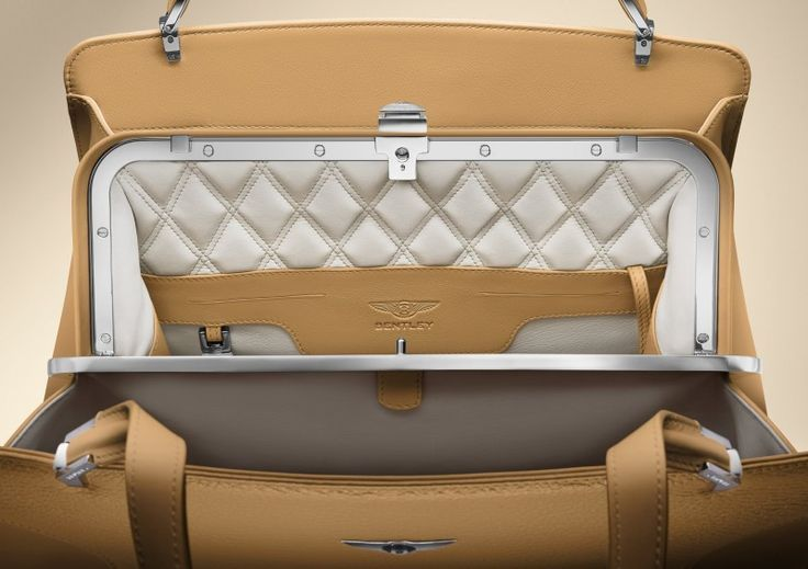 Bentley for women! Bentleys Bags And Scarves Collection To Debut At Geneva Motor Sho The brand has extended the exquisite color palette of cars to its range of luxury accessories for woman. #Bentley Continental and Barnato bags