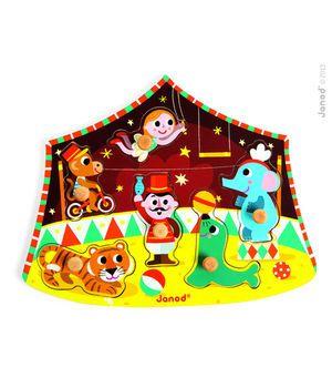 Janod - Puslespil cirkus