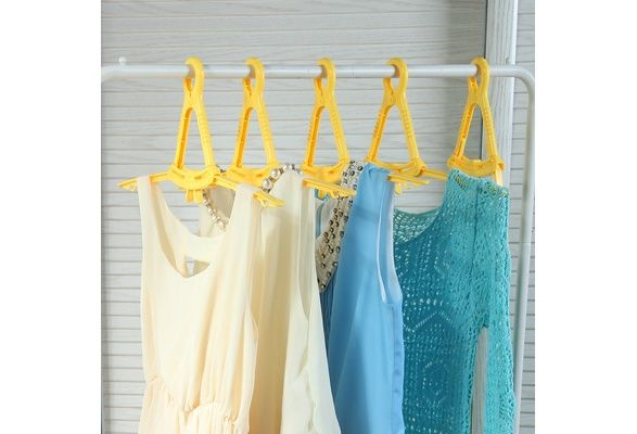 5PCS, Plastic Drying Clothes, Multifunctional Folding Cothes Hanger (Color: Multicolor) $16 USD #wish #onlineshopping #shoppingmadefun #fashion #gift #creativeliving #householdgoods #homedecor #home