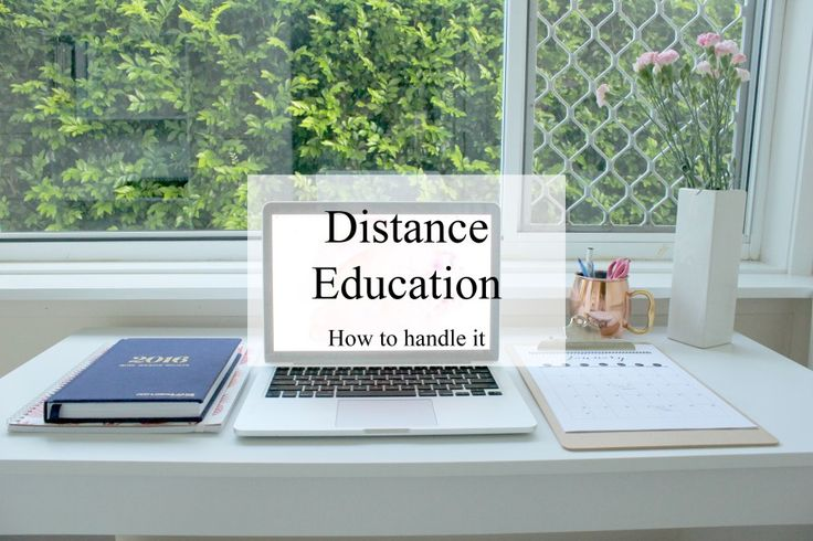 Distance Education: How To Handle It | Study Tips