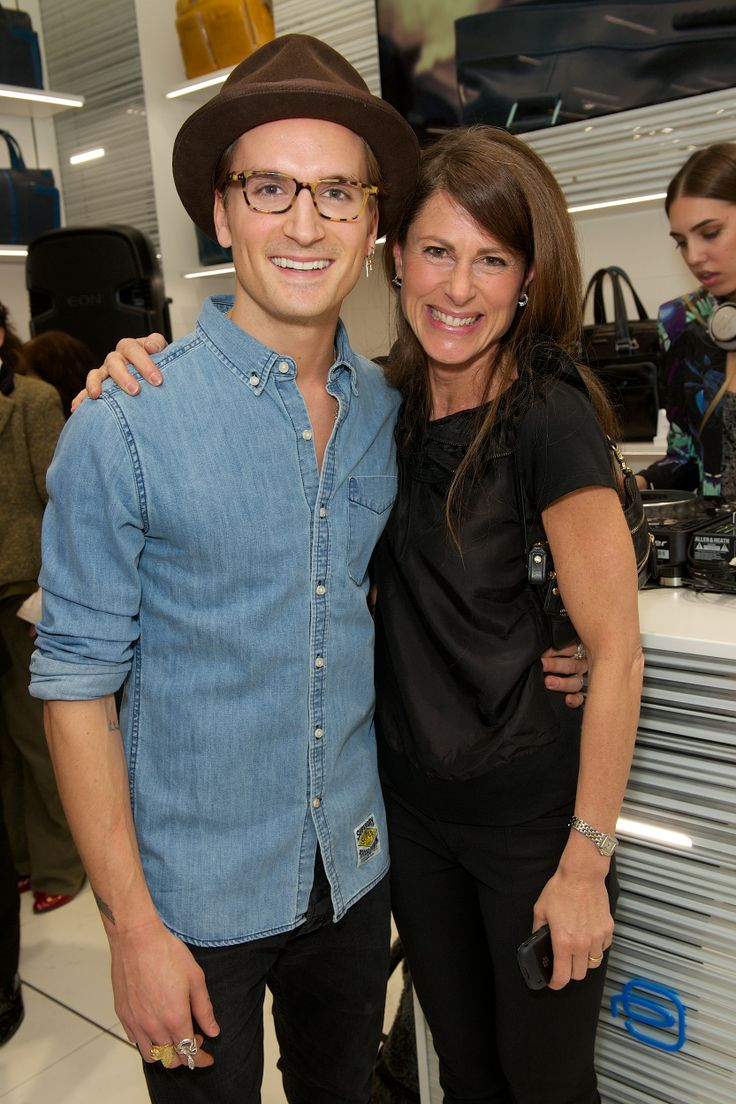 Oliver Proudlock and Piquadro PR Manager