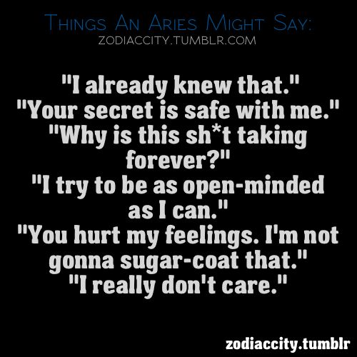 What To Say To Aries Woman