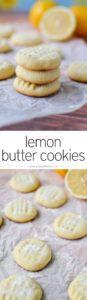 lemon butter cookies | simplywhisked.com