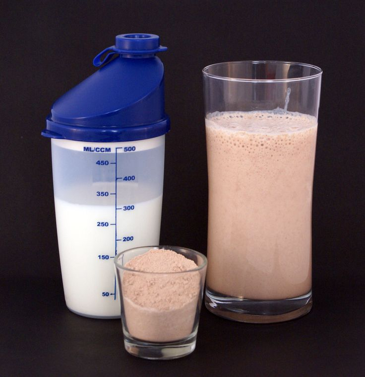 Protein shakes a good healthy alternative ,