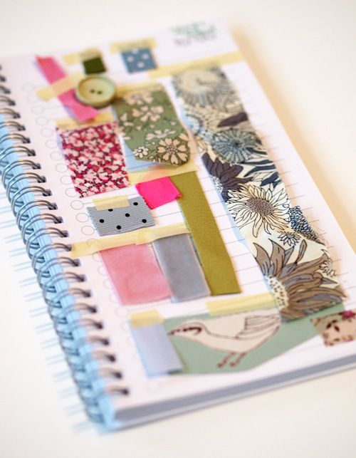 Portable mood board, genius!  This would be great for swatches etc. to show color examples...