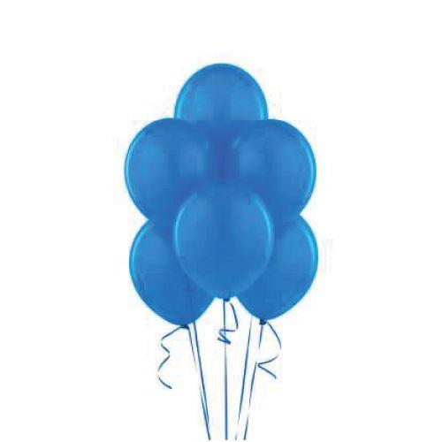 Parti Süslemelerinize Mavi Rengi ile Şık Bir Dokunuş! Büyükten küçüğe hepimiz Balonları çok severiz. Onlar olmadan eğlenceli bir kutlama hayal etmek imkansızdır. Kutlamaların vaz geçilmez parti malzemeleri latex balonlar ile kutlamalarınızı renklendirebilirsiniz.  Paket içinde Mavi Renkli 10 adet baskılı balon mevcuttur.  Ne zaman teslim alırım  Hafta içi saat 14:00'a kadar verilen siparişler aynı gün kargoya teslim edilir.