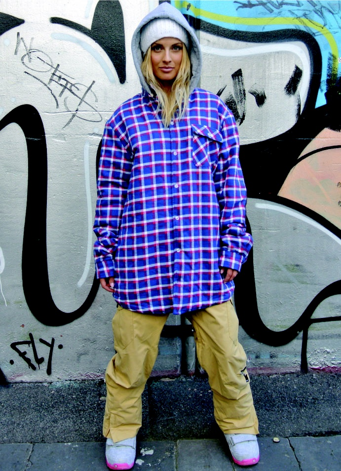 OOTZ — OOTZ 052 - OOTZ Sherpa Lined Tall Flannel - Royal Check