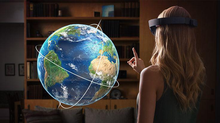 Webtekno ///  Bir Sonraki HoloLens, Nesneleri Algılayabilmek için Yapay Zeka Kullanacak