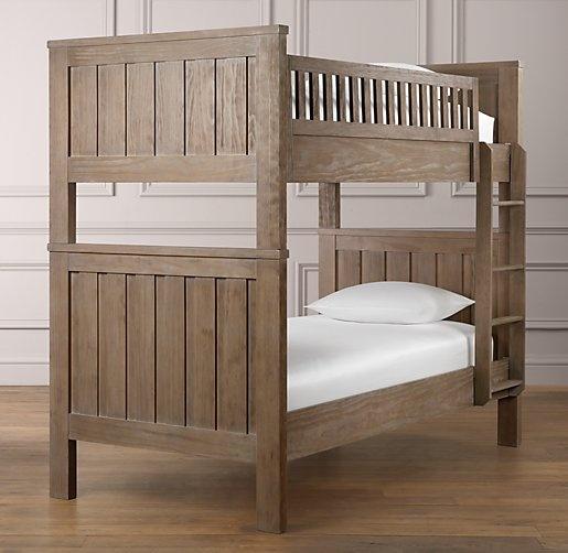 Kenwood Twin Bunk Bed Beds Bunk Beds Restoration Hardware Baby Amp