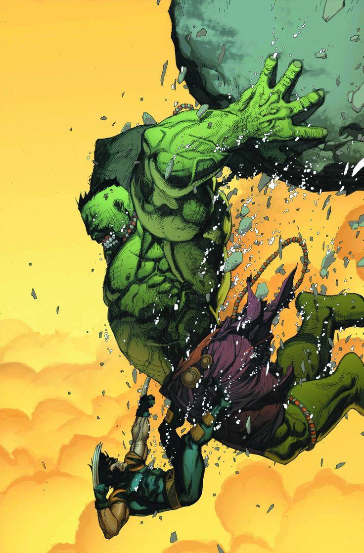 #Hulk #Fan #Art. (Ultimate Wolverine VS Hulk!) By: Leinil Francis Yu. (THE * 5 * STÅR * ÅWARD * OF: * AW YEAH, IT'S MAJOR ÅWESOMENESS!!!™)[THANK Ü 4 PINNING!!!<·><]<©>ÅÅÅ+(OB4E)