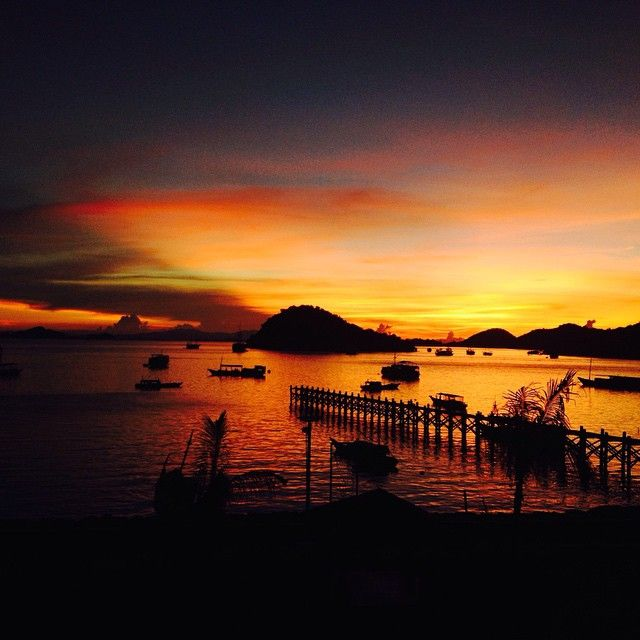 Sunsets from our restaurant never fail to amaze.
