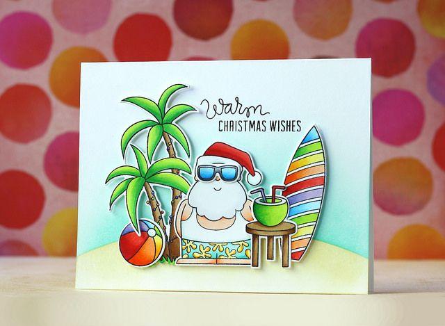 25 Unique Beach Christmas Cards Ideas On Pinterest