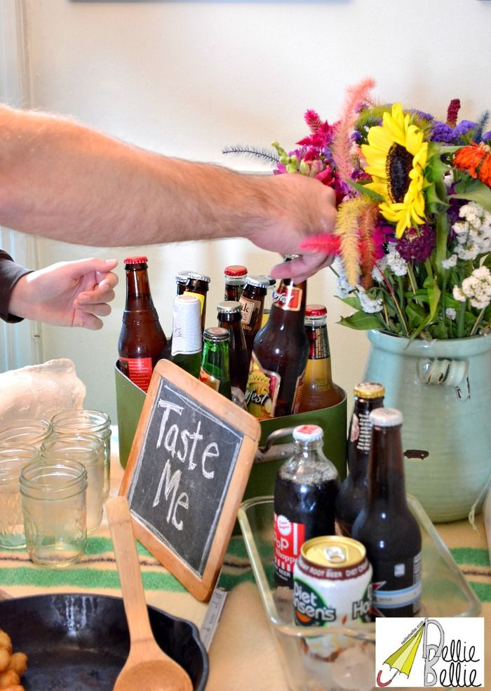 Tips for throwing a great party: like this beer-tasting party!