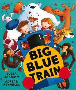 Can you squeeze aboard Ben and Bella's big blue train? They're heading to a party and you're invited too. So jump on, squash up and join in the fun!