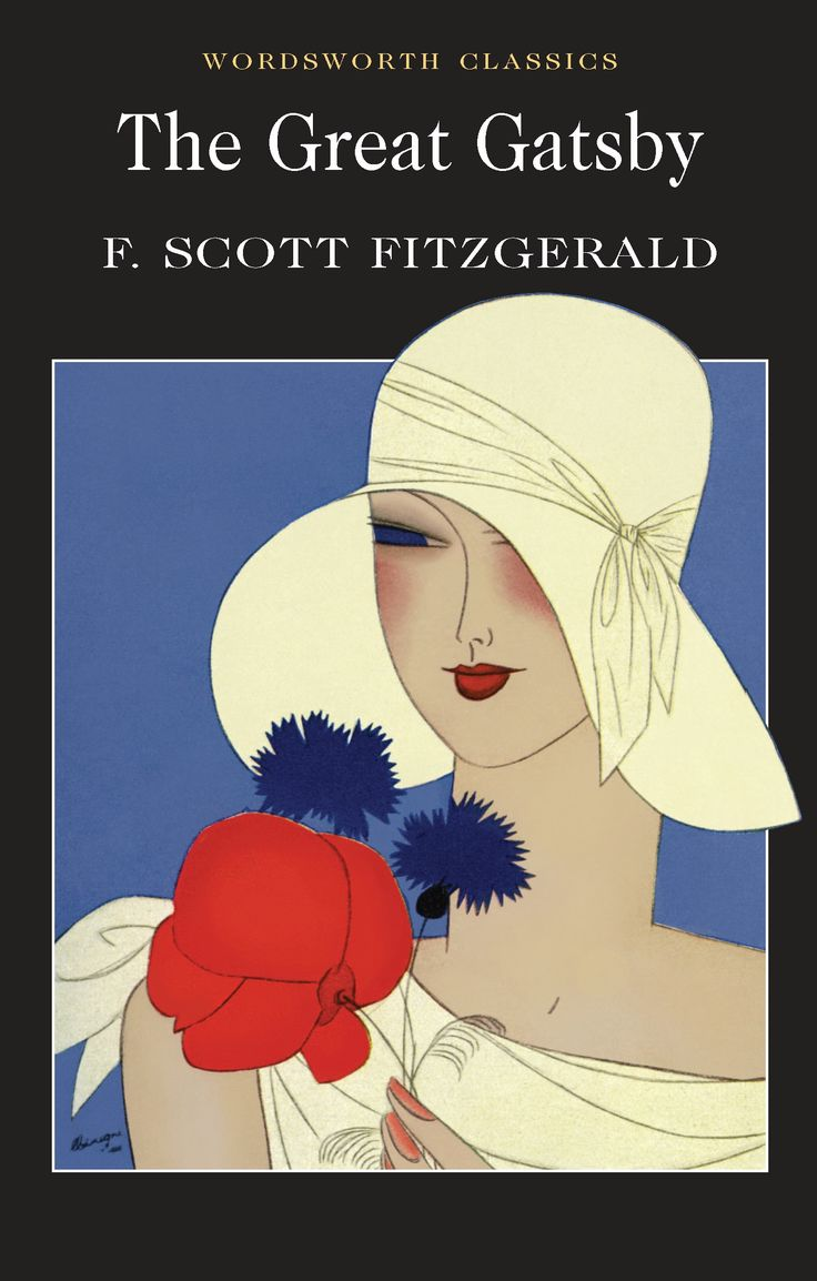 The Great Gatsby: The 1993 Wordsworth Classics Cover