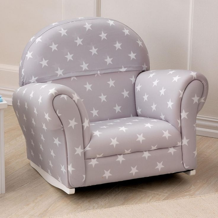 Fantastic kids upholstered rocking chair home furniture in